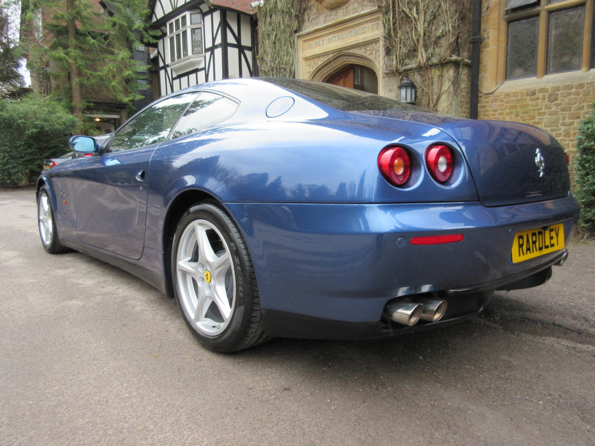 2004 SOLD ANOTHER REQUIRED Ferrari 612 F1 -Left hand drive For Sale (picture 3 of 6)