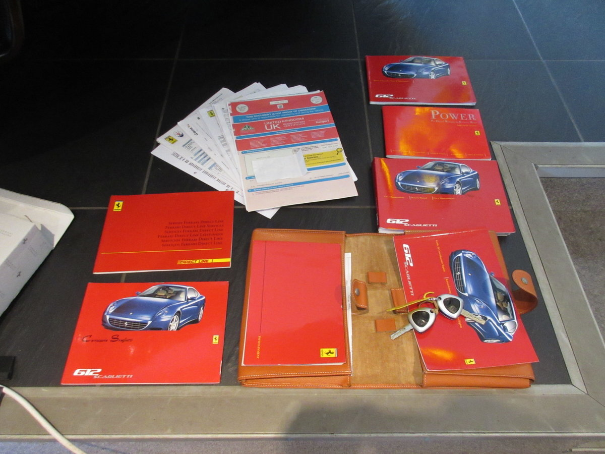 2004 SOLD ANOTHER REQUIRED Ferrari 612 F1 -Left hand drive For Sale (picture 6 of 6)