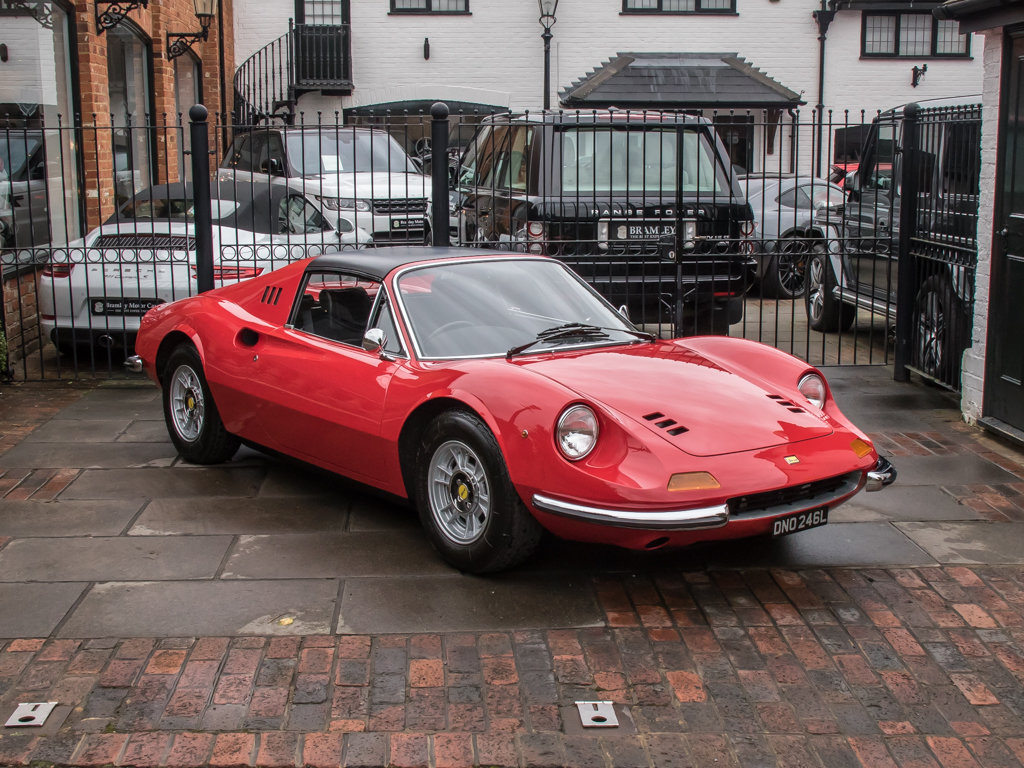 1973 Ferrari    Dino 246 GTS Spyder For Sale (picture 3 of 18)