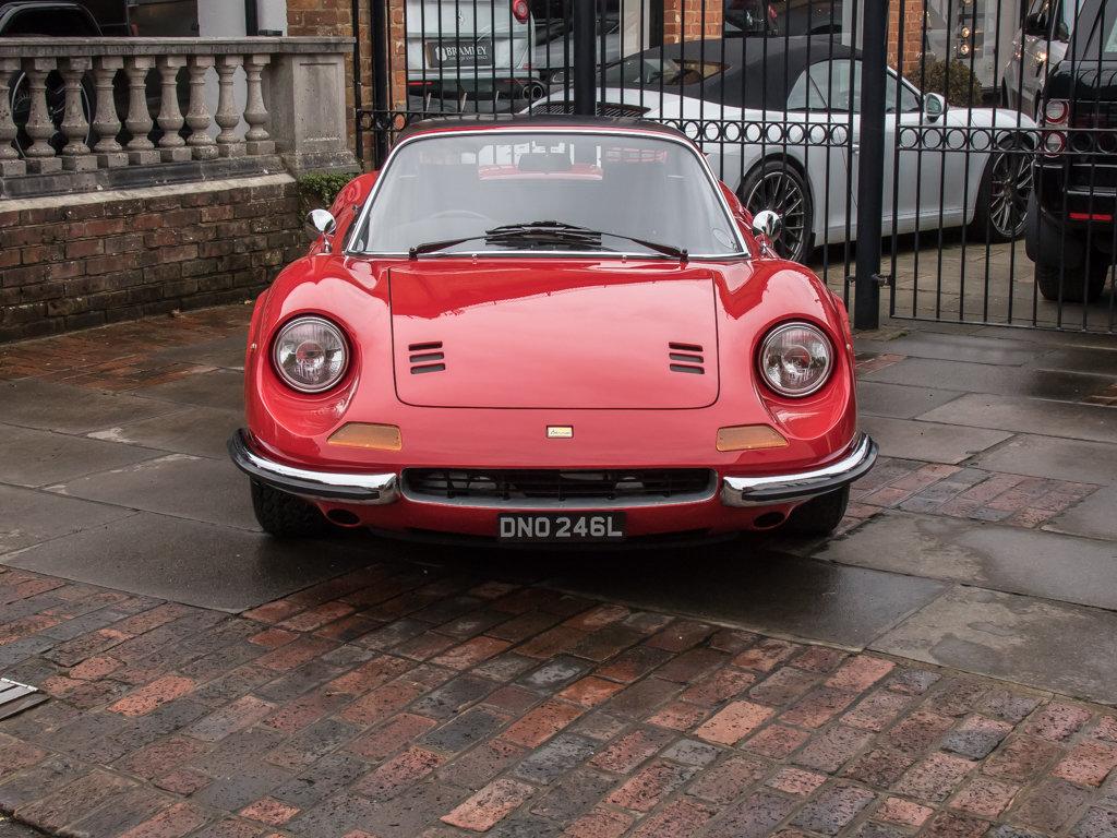 1973 Ferrari    Dino 246 GTS Spyder For Sale (picture 4 of 18)