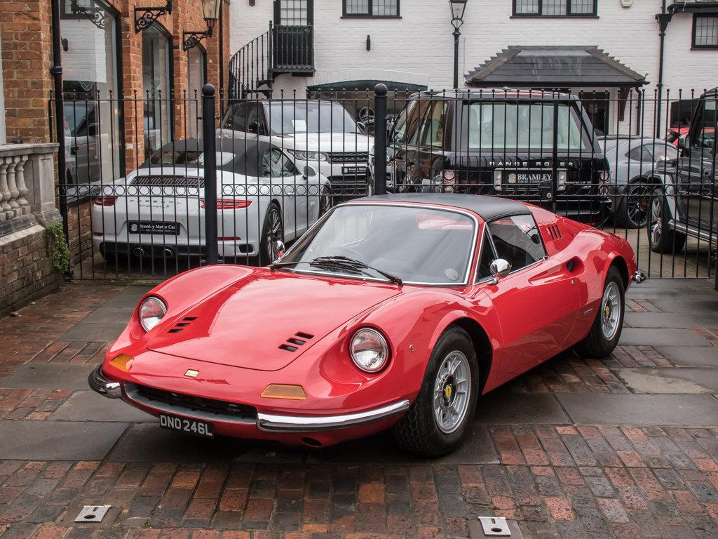 1973 Ferrari    Dino 246 GTS Spyder For Sale (picture 5 of 18)