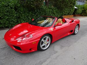 2004 Ferrari 360 Convertible Spider clean Red(~)Tan $89.5k For Sale