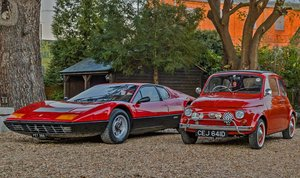 Ferrari 365 GT4 BB and 1966 Fiat 500 Nuova (His & Hers)