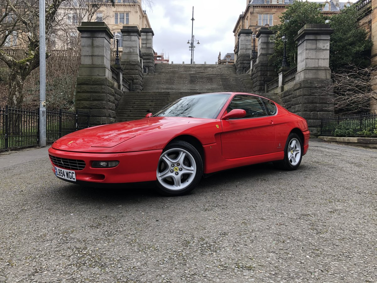 1994 FERRARI 456 GT M Coupe Manual For Sale (picture 1 of 6)