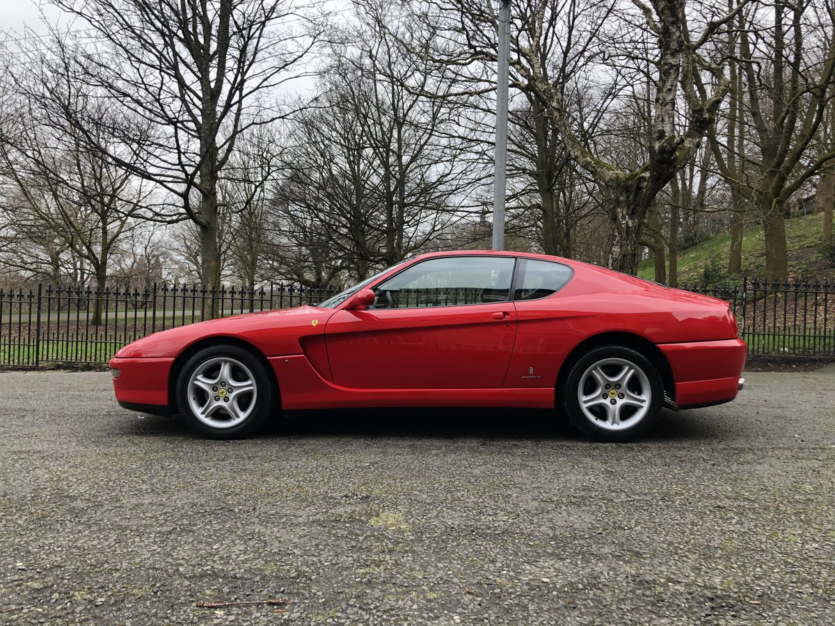 1994 FERRARI 456 GT M Coupe Manual For Sale (picture 2 of 6)