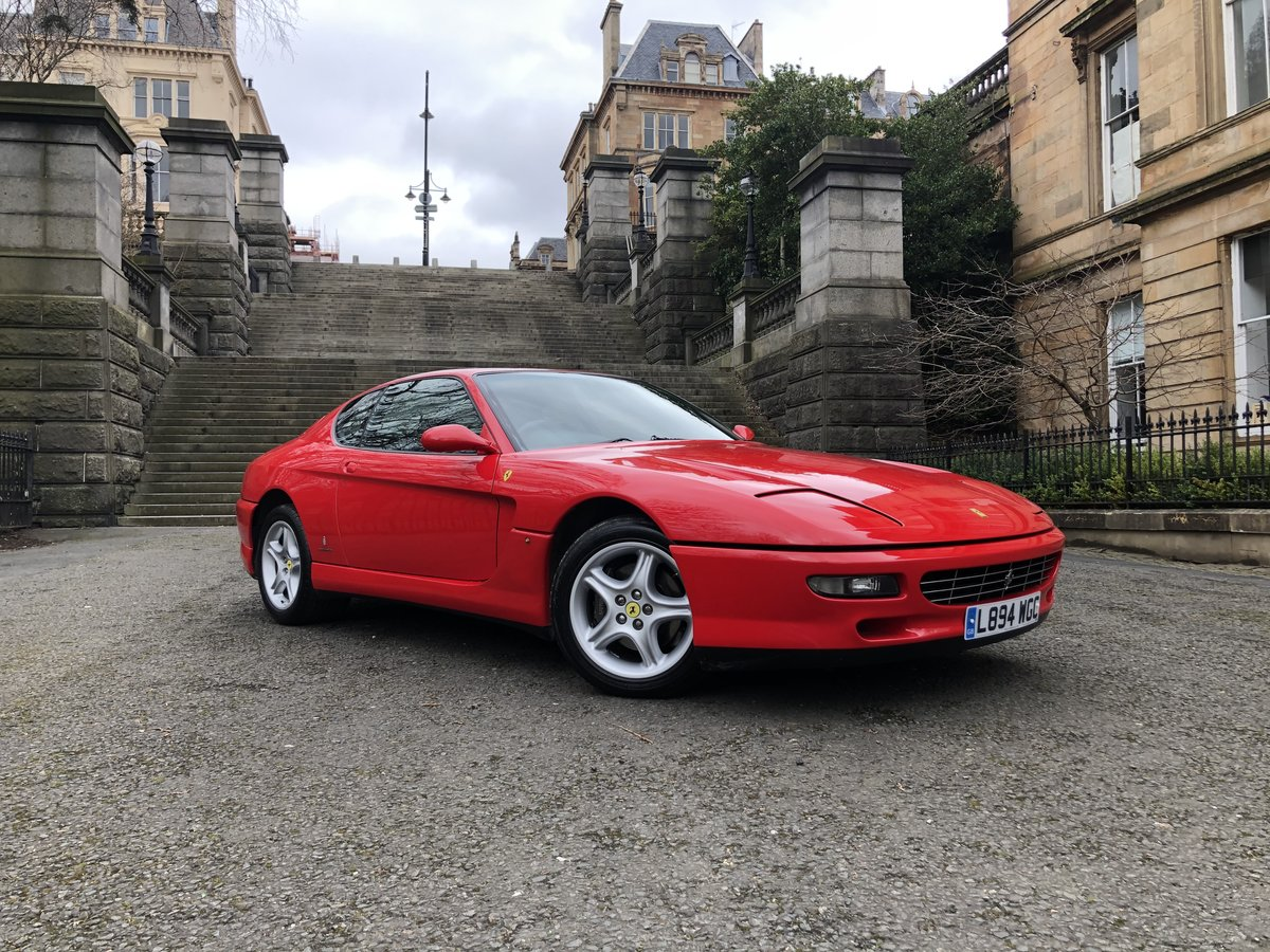 1994 FERRARI 456 GT M Coupe Manual For Sale (picture 3 of 6)
