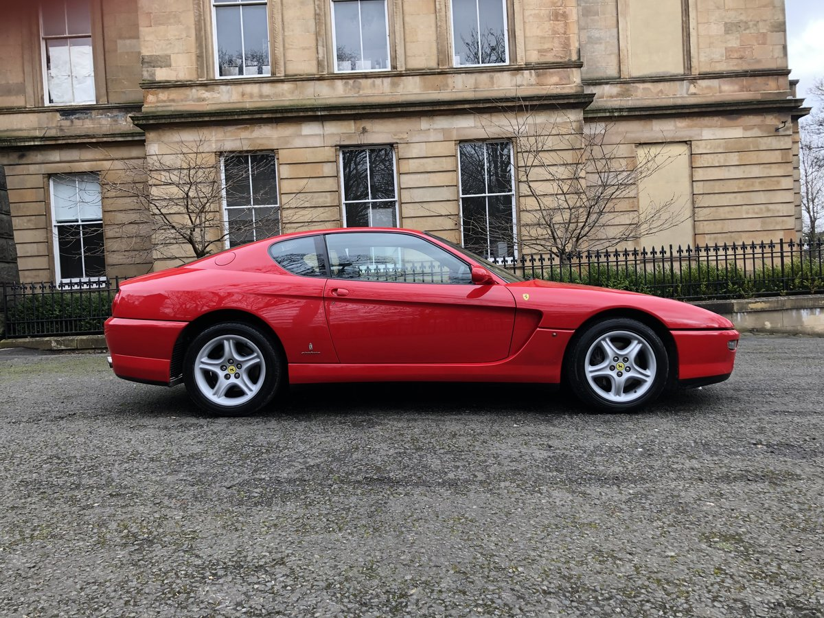 1994 FERRARI 456 GT M Coupe Manual For Sale (picture 4 of 6)