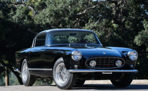 1958 Ferrari 250GT Ellena = clean Black driver coming soon