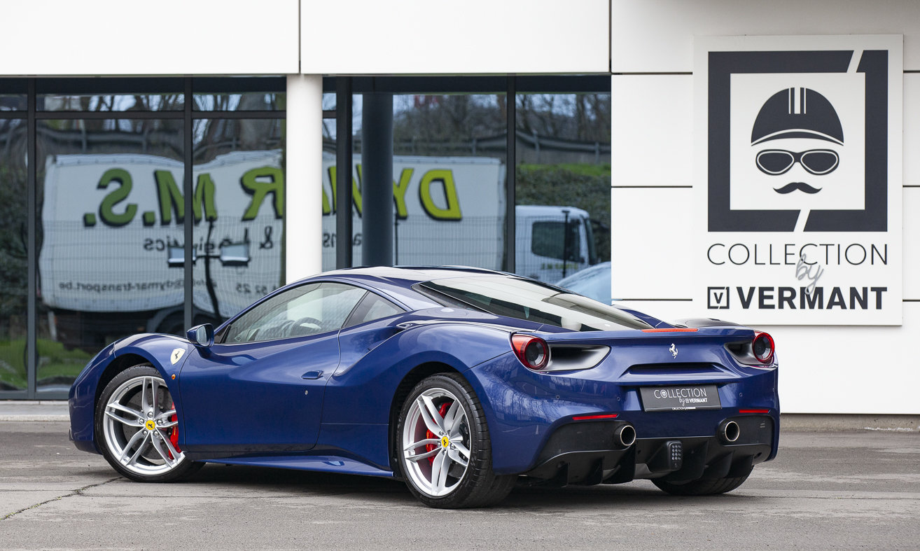 2018 Ferrari 488 GTB - Belgian car - ONLY 795km's!! For Sale (picture 2 of 6)