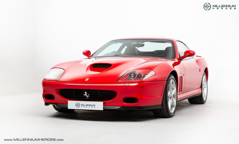 2002 FERRARI 575M MARANELLO // UK RHD // ROSSO CORSA // 23K MILES For Sale (picture 1 of 24)