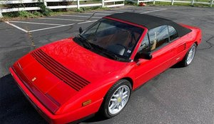 Picture of 1991 Ferrari Mondial T Cabriolet Convertible Red(~)Tan $43k For Sale