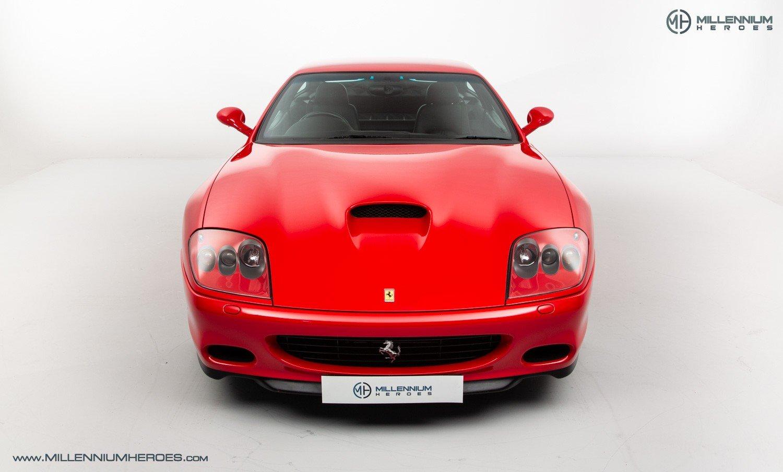2002 FERRARI 575M MARANELLO // UK RHD // ROSSO CORSA // 23K MILES For Sale (picture 3 of 24)