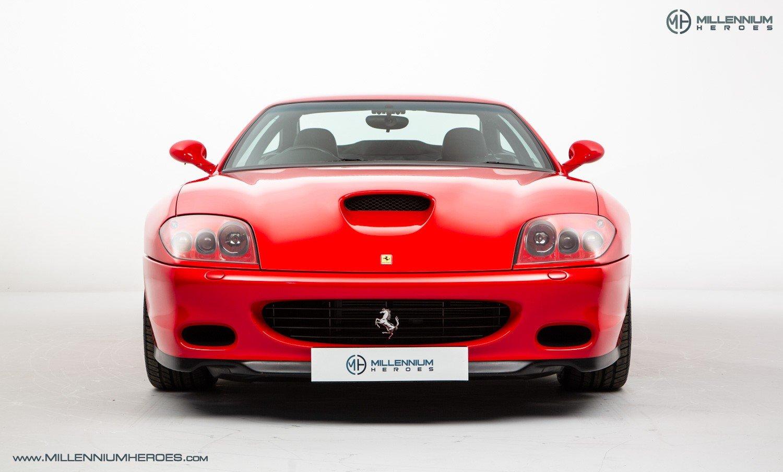 2002 FERRARI 575M MARANELLO // UK RHD // ROSSO CORSA // 23K MILES For Sale (picture 4 of 24)