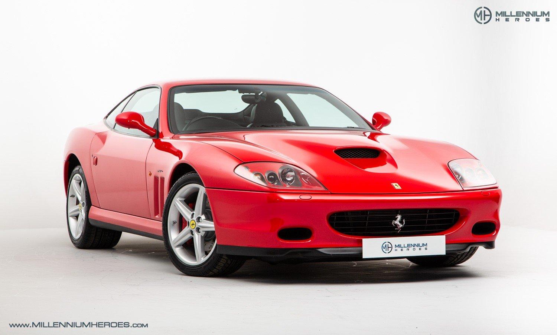 2002 FERRARI 575M MARANELLO // UK RHD // ROSSO CORSA // 23K MILES For Sale (picture 5 of 24)