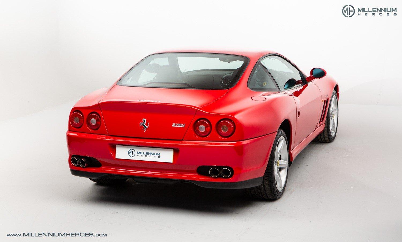 2002 FERRARI 575M MARANELLO // UK RHD // ROSSO CORSA // 23K MILES For Sale (picture 9 of 24)