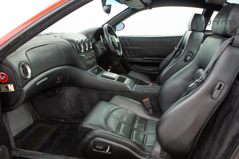 2002 FERRARI 575M MARANELLO // UK RHD // ROSSO CORSA // 23K MILES For Sale (picture 14 of 24)