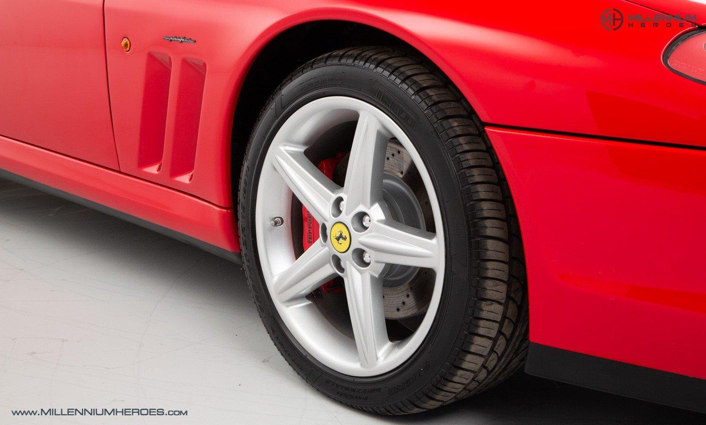 2002 FERRARI 575M MARANELLO // UK RHD // ROSSO CORSA // 23K MILES For Sale (picture 23 of 24)