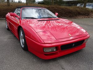 1994  Ferrari 348 Spider - 68978 km - 1090 Spider produced -