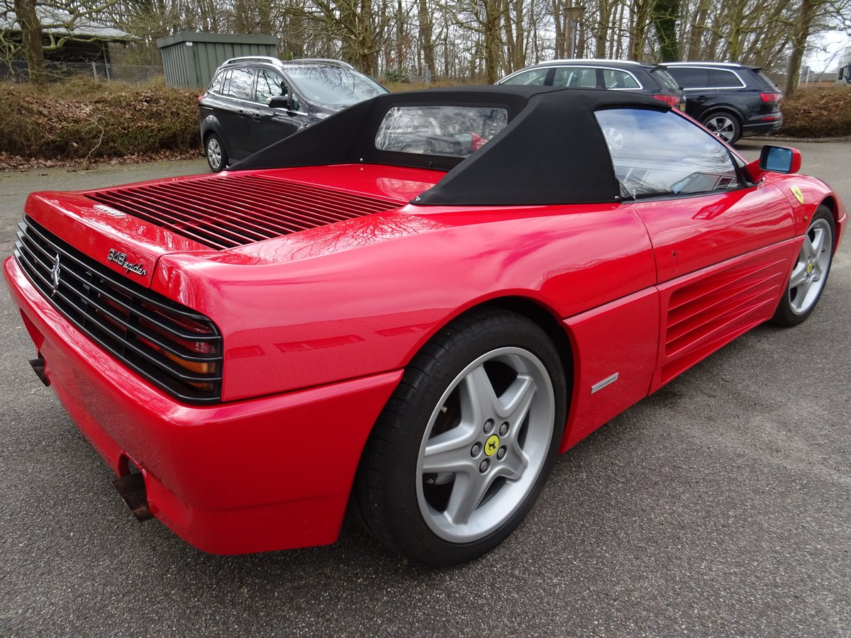 1994 Ferrari 348 Spider - 68978 km - 1090 Spider produced -  For Sale (picture 4 of 24)