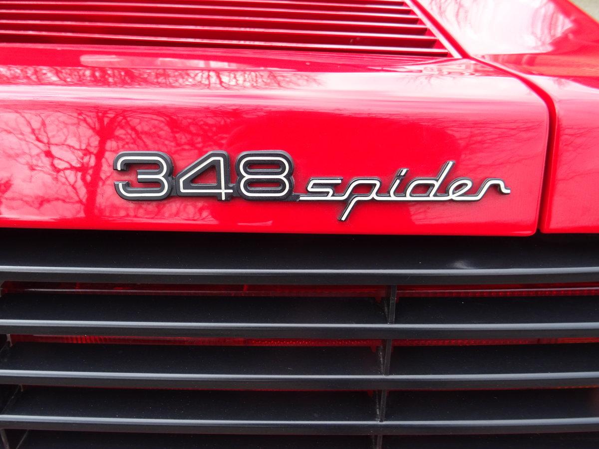 1994 Ferrari 348 Spider - 68978 km - 1090 Spider produced -  For Sale (picture 10 of 24)