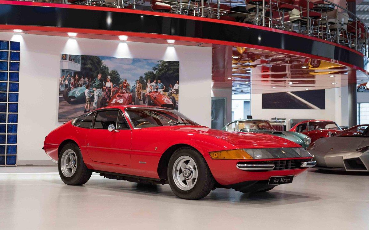 1969 Ferrari Daytona Plexi RHD For Sale (picture 3 of 15)