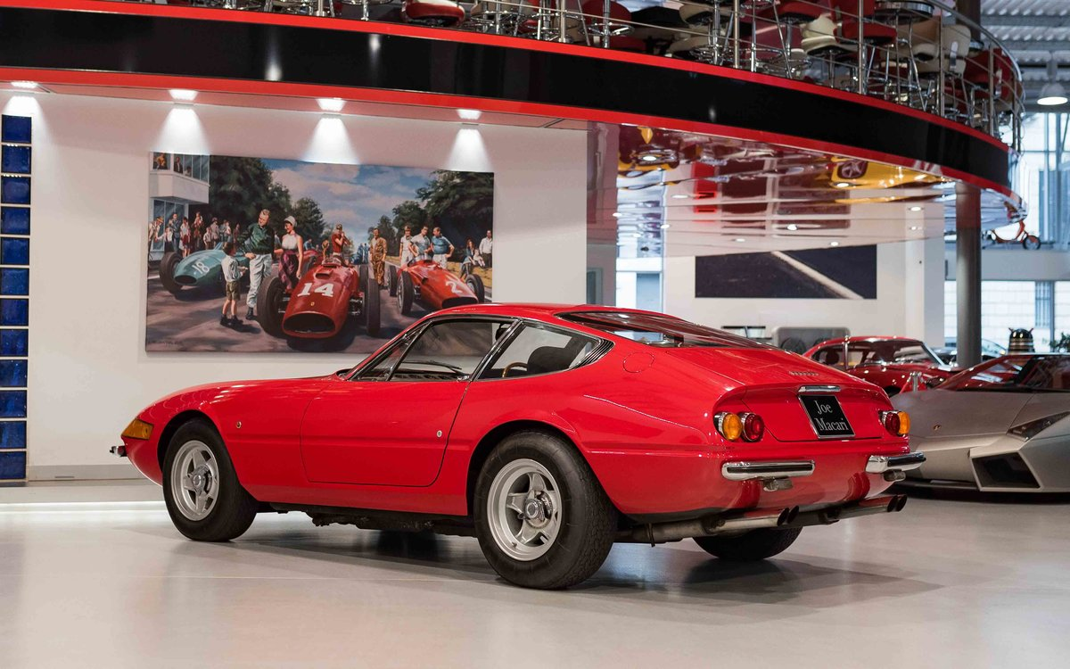 1969 Ferrari Daytona Plexi RHD For Sale (picture 9 of 15)