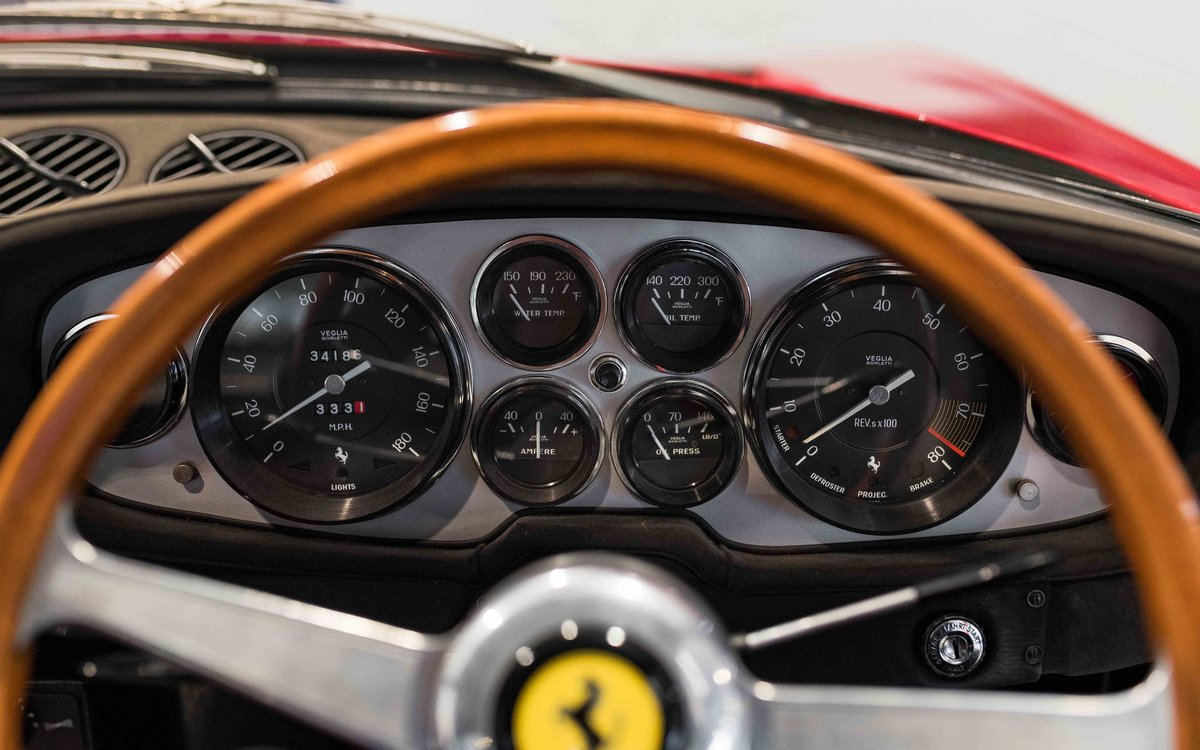 1969 Ferrari Daytona Plexi RHD For Sale (picture 12 of 15)