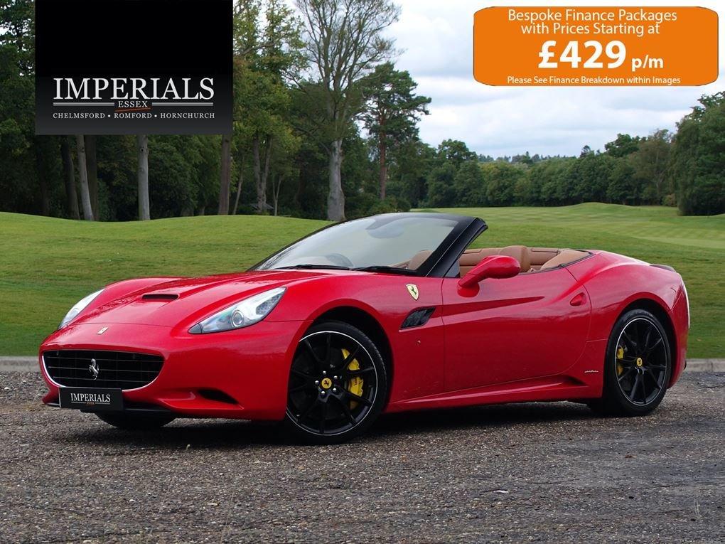 2010 Ferrari  CALIFORNIA  4.3 Cabriolet Auto  74,948 For Sale (picture 1 of 24)