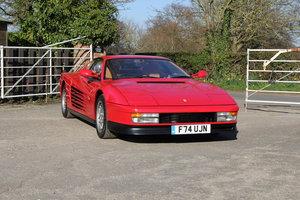 1989 Ferrari Testarossa, RHD 20200 Miles, 32k Recently Spent