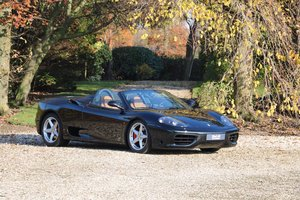 Low mileage Ferrari 360 Spider