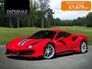 2018 Ferrari  488 PISTA  3.9T V8 F1 DCT AUTO  332,948 For Sale