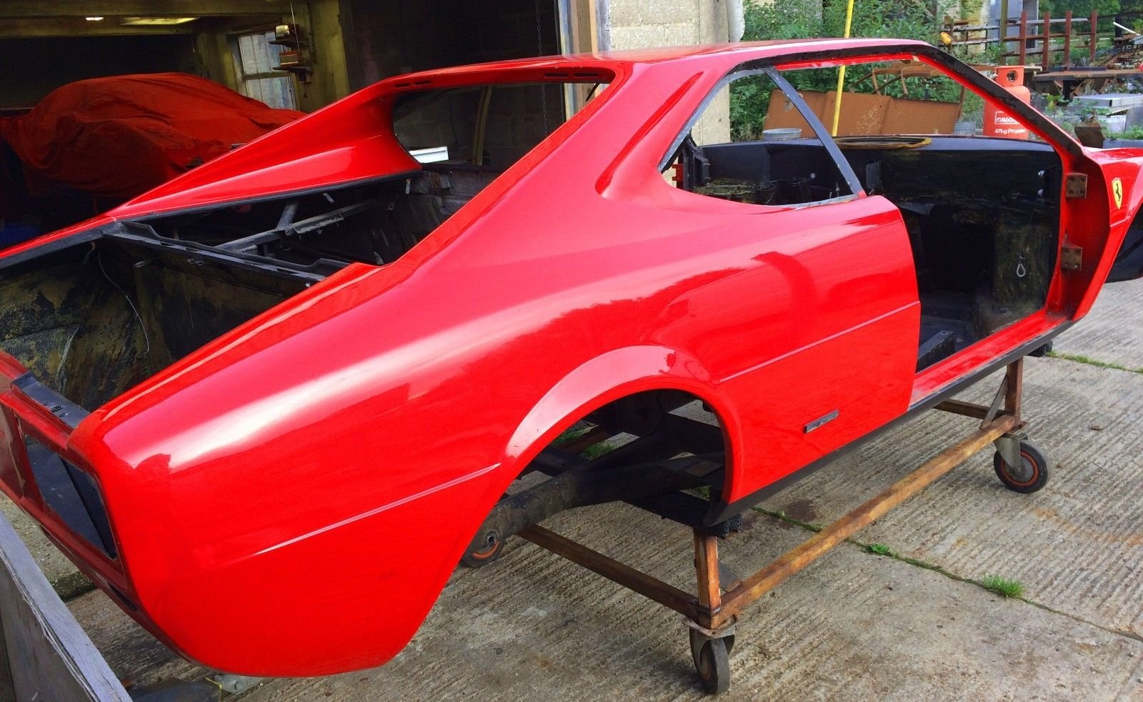 1975 Ferrari Dino 208 GT4 Body and Chassis LHD For Sale (picture 3 of 6)