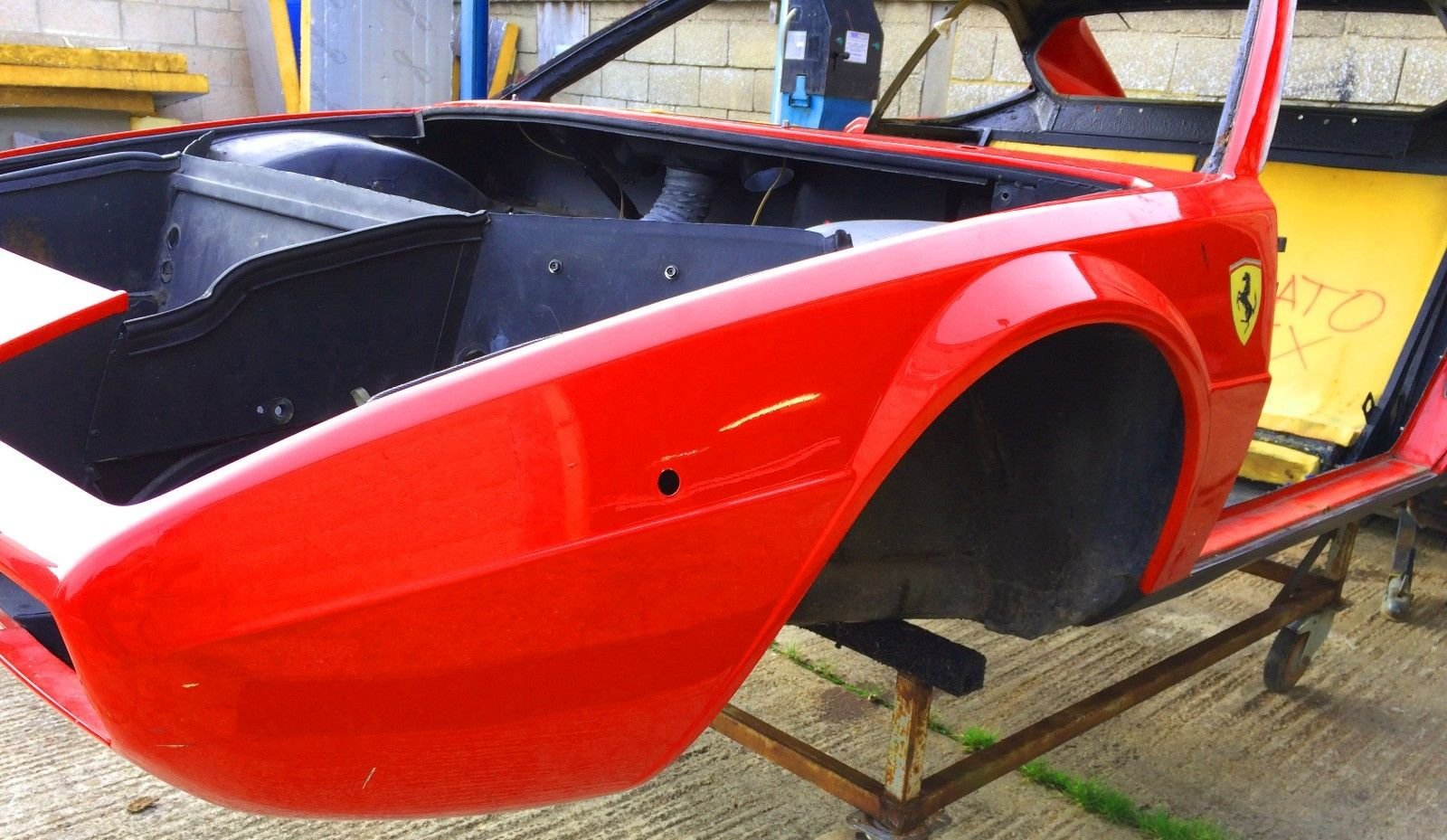 1975 Ferrari Dino 208 GT4 Body and Chassis LHD For Sale (picture 5 of 6)