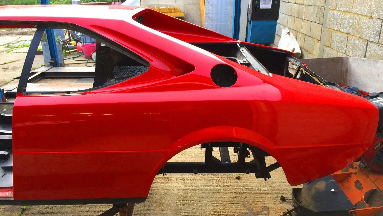 1975 Ferrari Dino 208 GT4 Body and Chassis LHD For Sale (picture 6 of 6)