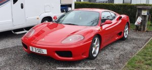 Ferrari F360 Modena Manual Recent Clutch, Same Owner 20 Yrs