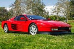 1990 Ferrari Testarossa Red(~)Tan 10k miles serviced $129.8k
