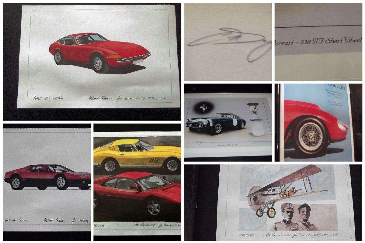0000 FERRARI MEMORABILIA, PICTURES AND BOOKS For Sale (picture 6 of 6)