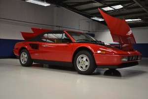 1986 'New' Delivery Mileage, Ferrari Mondial 3.2 Cab'.