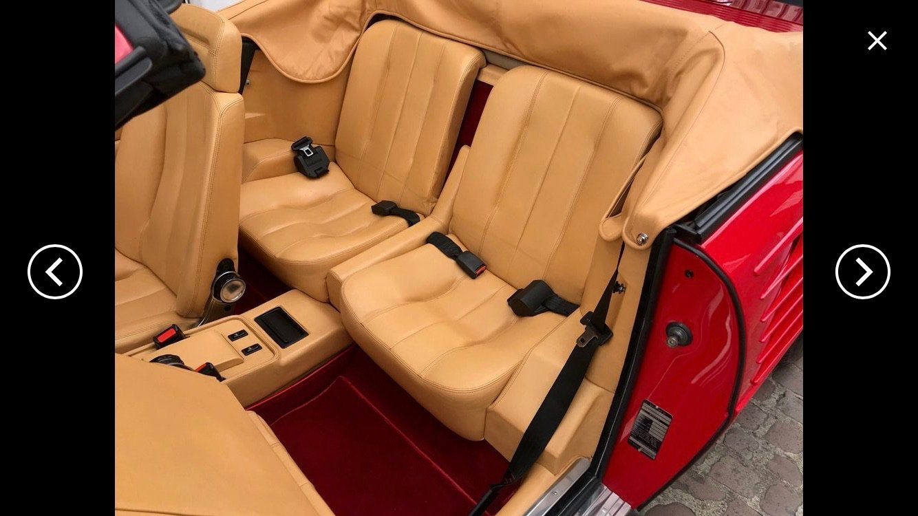 1986 'New' Delivery Mileage, Ferrari Mondial 3.2 Cab'.  For Sale (picture 3 of 6)