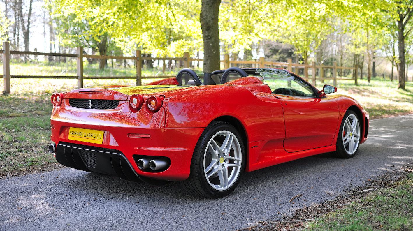 2007 Ferrari F430 Spider F1 SOLD (picture 3 of 6)