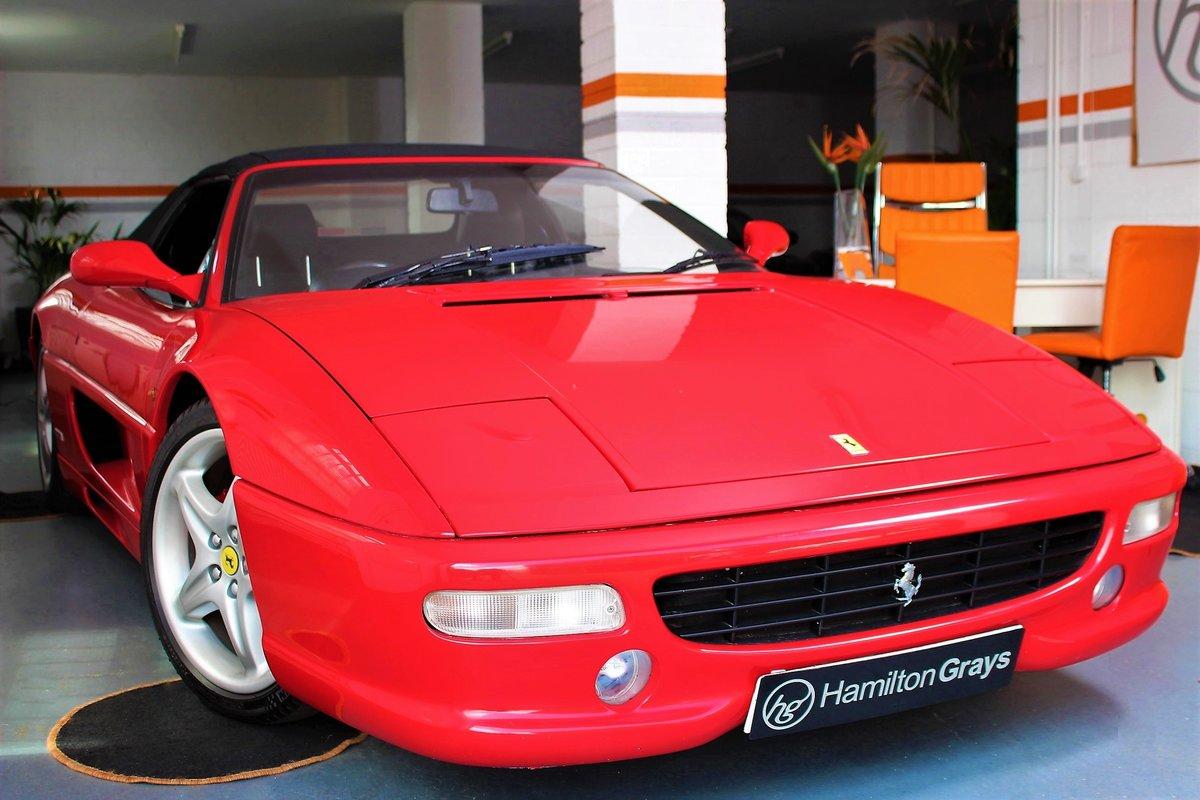 1998 (S) Ferrari F355 F1 Spider. Finished in Rosso Corsa  For Sale (picture 1 of 6)