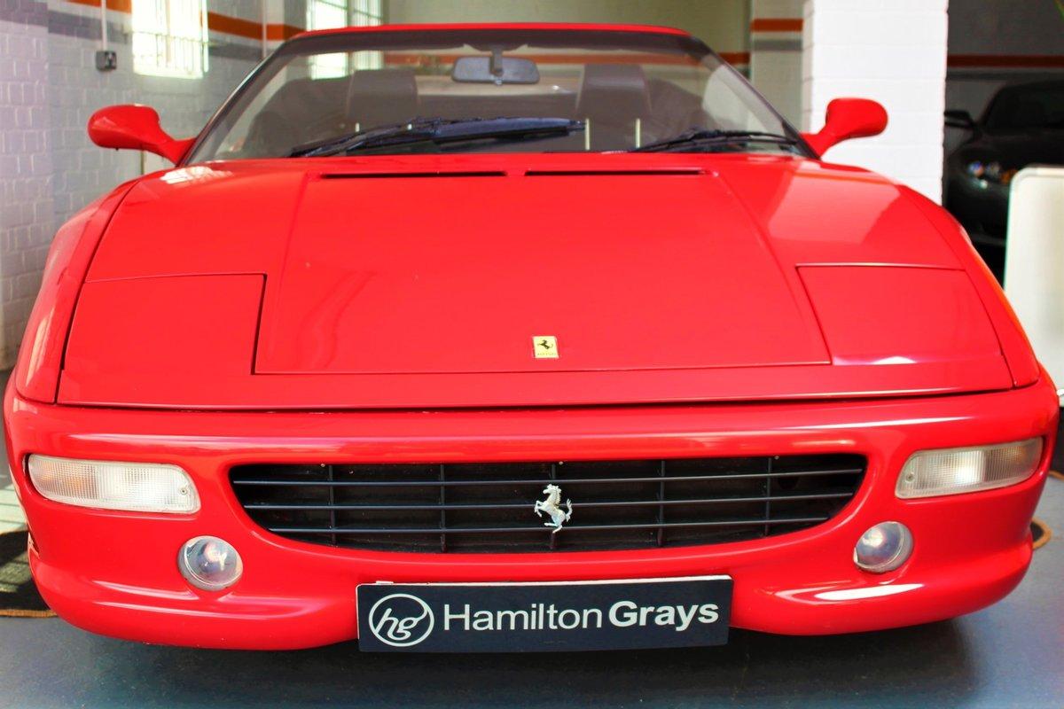 1998 (S) Ferrari F355 F1 Spider. Finished in Rosso Corsa  For Sale (picture 4 of 6)