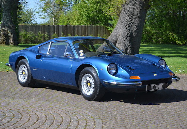 1972 Ferrari Dino 246GT Berlinetta, 57,706 Miles From New For Sale (picture 1 of 6)