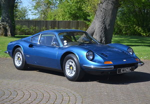 1972 Ferrari Dino 246GT Berlinetta, 57,706 Miles From New For Sale