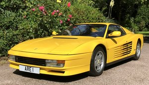 1991 FERRARI TESTAROSSA  LHD  only 19k miles For Sale