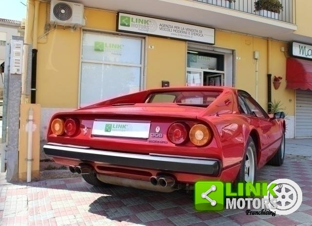 1985 Ferrari 308 Gtbi Quattrovalvole TARGA ORO ASI For Sale (picture 6 of 6)