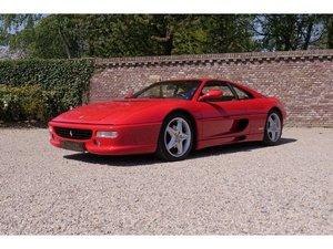 1997 Ferrari F355 GTB F1 , Rosso Corsa over Tobacco, Full service For Sale