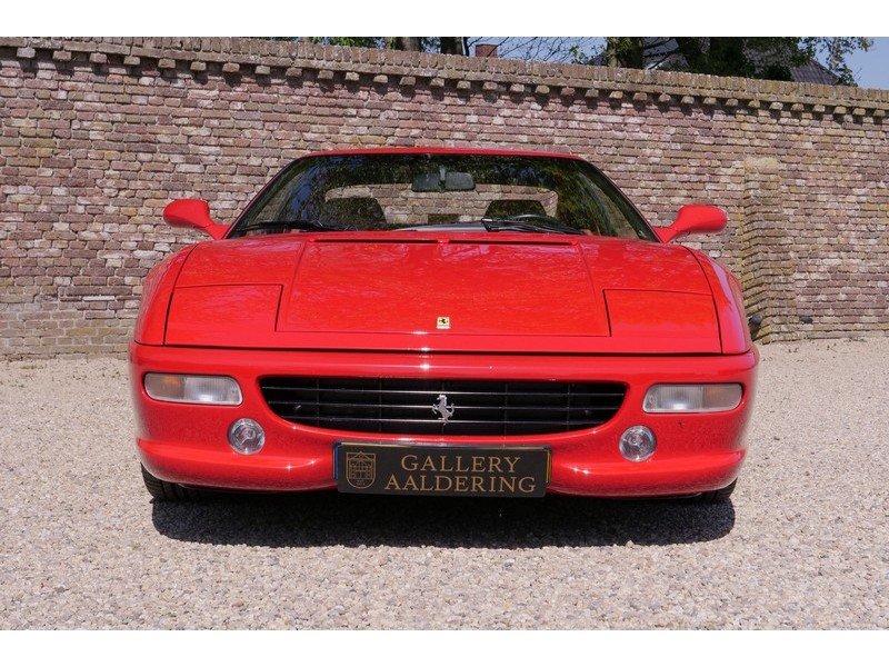 1997 Ferrari F355 GTB F1 , Rosso Corsa over Tobacco, Full service For Sale | Car And Classic
