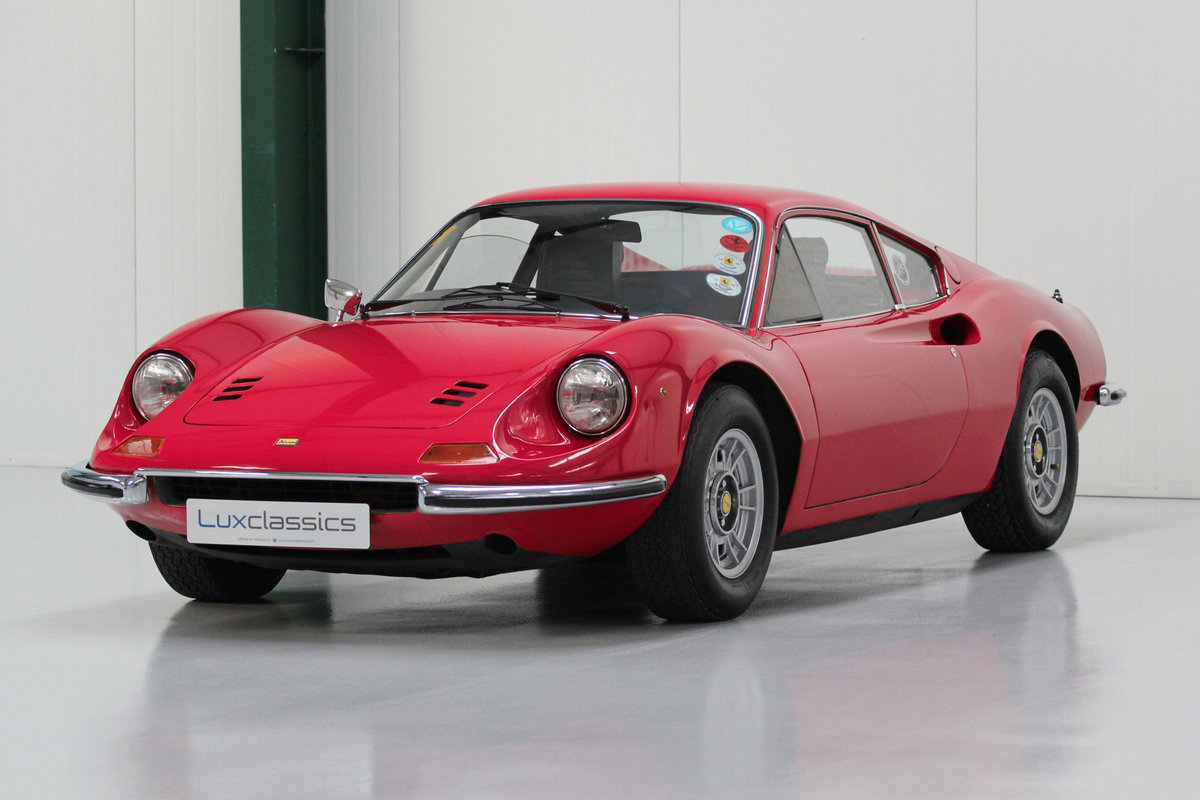 1973 Ferrari Dino 246GT RHD For Sale (picture 1 of 6)