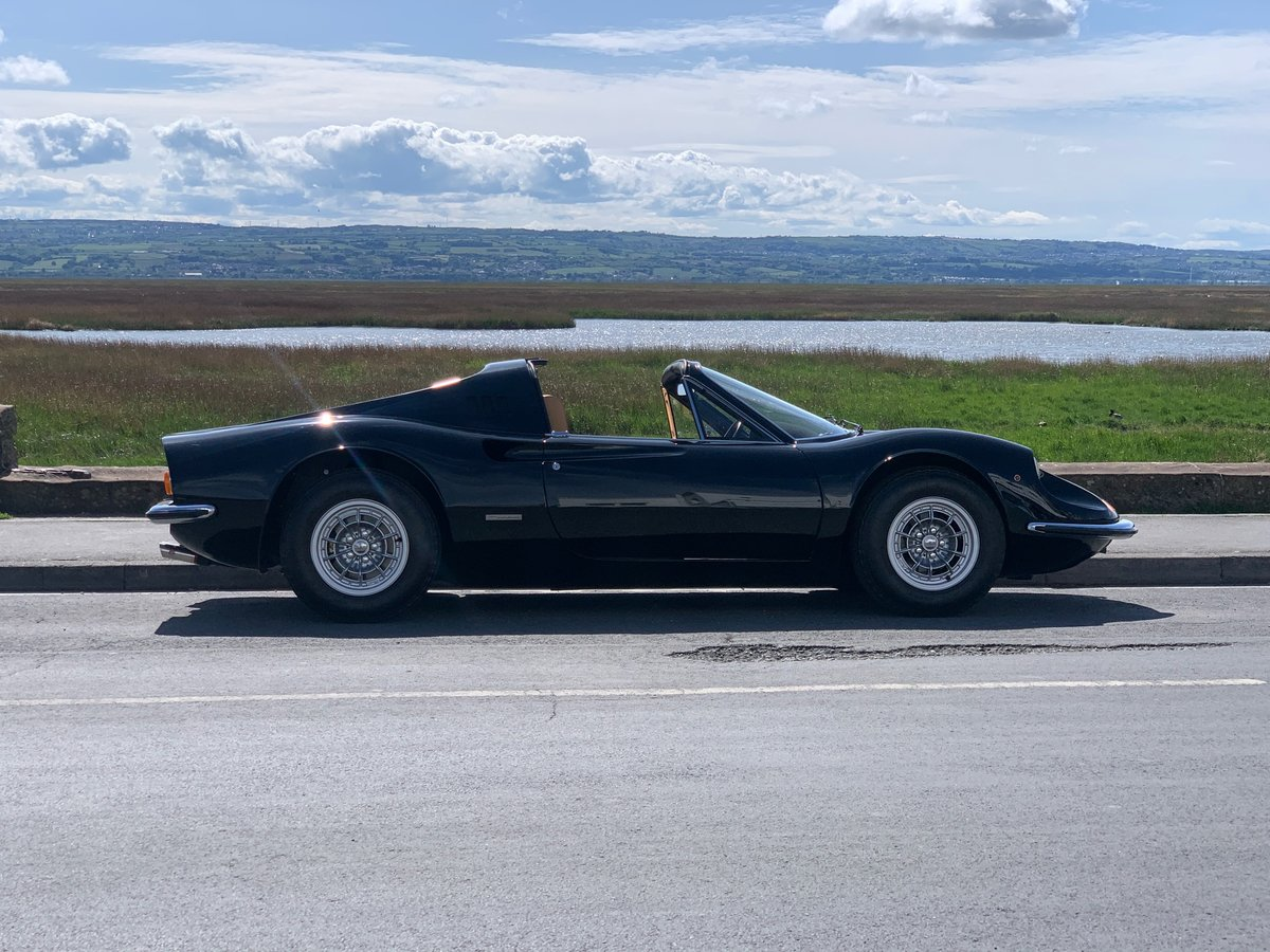 1974 Ferrari Dino GTS- 1 of only 7 original RHD Chairs & Flares For Sale (picture 1 of 6)